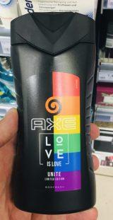 AXE Love is Love: Duschgel in Regenbogenfarben