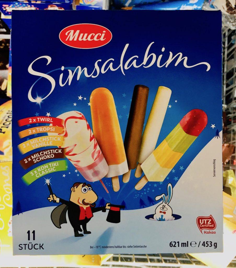 Aldi Mucci Simsalabim 11 Eis am Stil