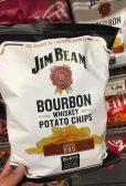 Burts Jim Beam Bourbon Whiskey Potata Chips BBQ