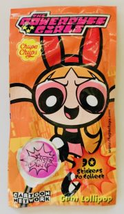 ChupaChups The Powerpuff Girls Lollipop mit Kaugummi Cartoon Network