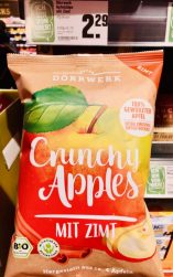 Dörrwerk Crunchy Apples mit Zimt Bio