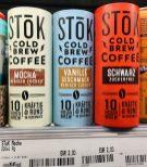 Danone Stok Cold Brew Coffee Mocha Vanille SChwarz