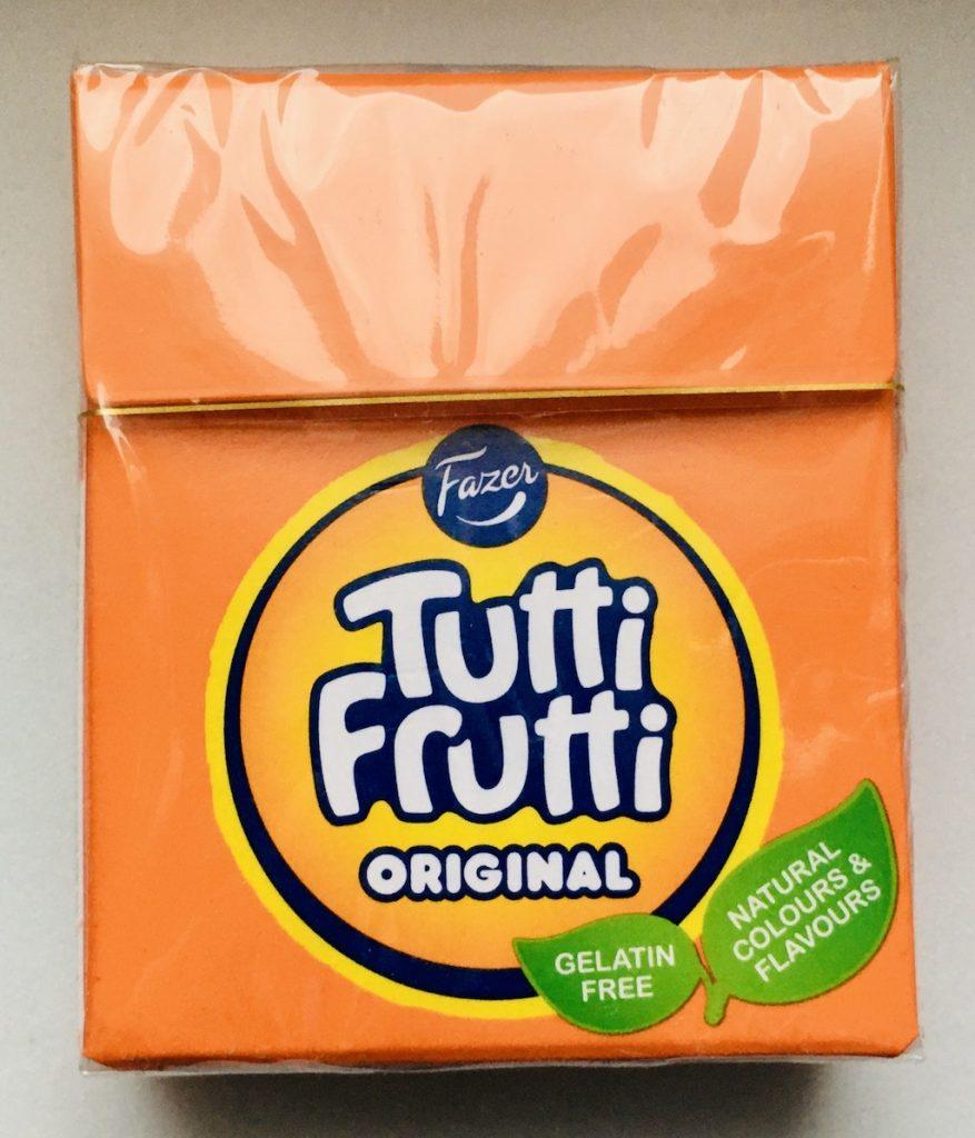 Fazer Tutti Frutti Orignal ohne Gelatine Bonbons