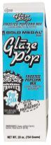 Glaze Pop Frosted Popcorn Mix Blue Raspberry