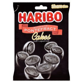 Haribo Pontefract-cakes Lakritz