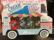Ice Cream Topping Truck 2 Sirupe 2 Streusel
