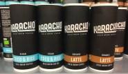 Karacho Cold Brew Coffee Pappdose Vegan Coco+Rice-Organic Latte