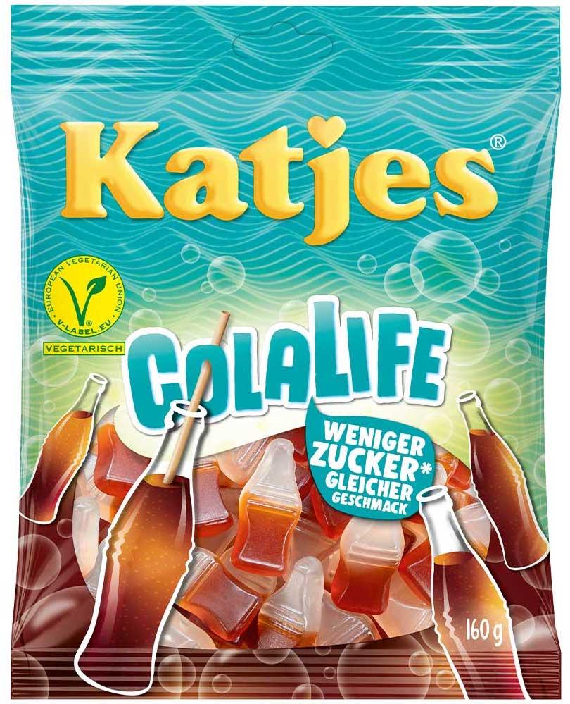 Katjes Colalife Weniger Zucker 160g