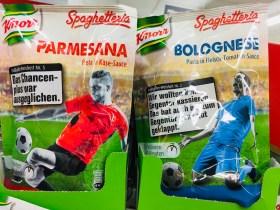 Knorr Spaghetteria Parmesana und Bolognese Pasta in Käse-Sauce und Fleisch-Tomaten-Sauce