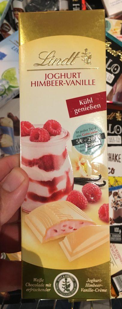 Lindt Joghurt-Himbeer-Vanille