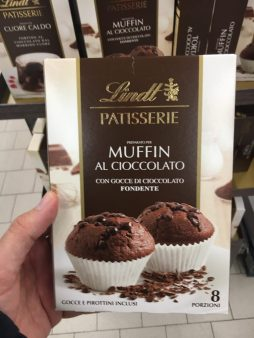 Lindt Patisserie Muffin al Cioccolato Backmischung