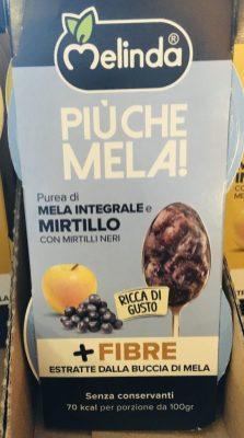 Melinda Piuche Mela Fruchtmousse Apfel-Heidelbeere