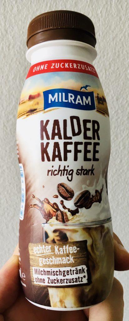 Milram Kalder Kaffee richtig stark Coldbrew to go ohne Zucker