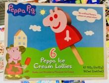 Peppa Pig Eis am Stil Vanille Erdbeere
