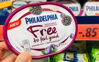 Philadelphia Free to feel good Brombeere Blaubeere