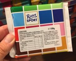 Ritter Sport Mustertafel Lebkuchen
