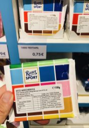 Ritter Sport Mustertafel Weiße Mango Maracuja