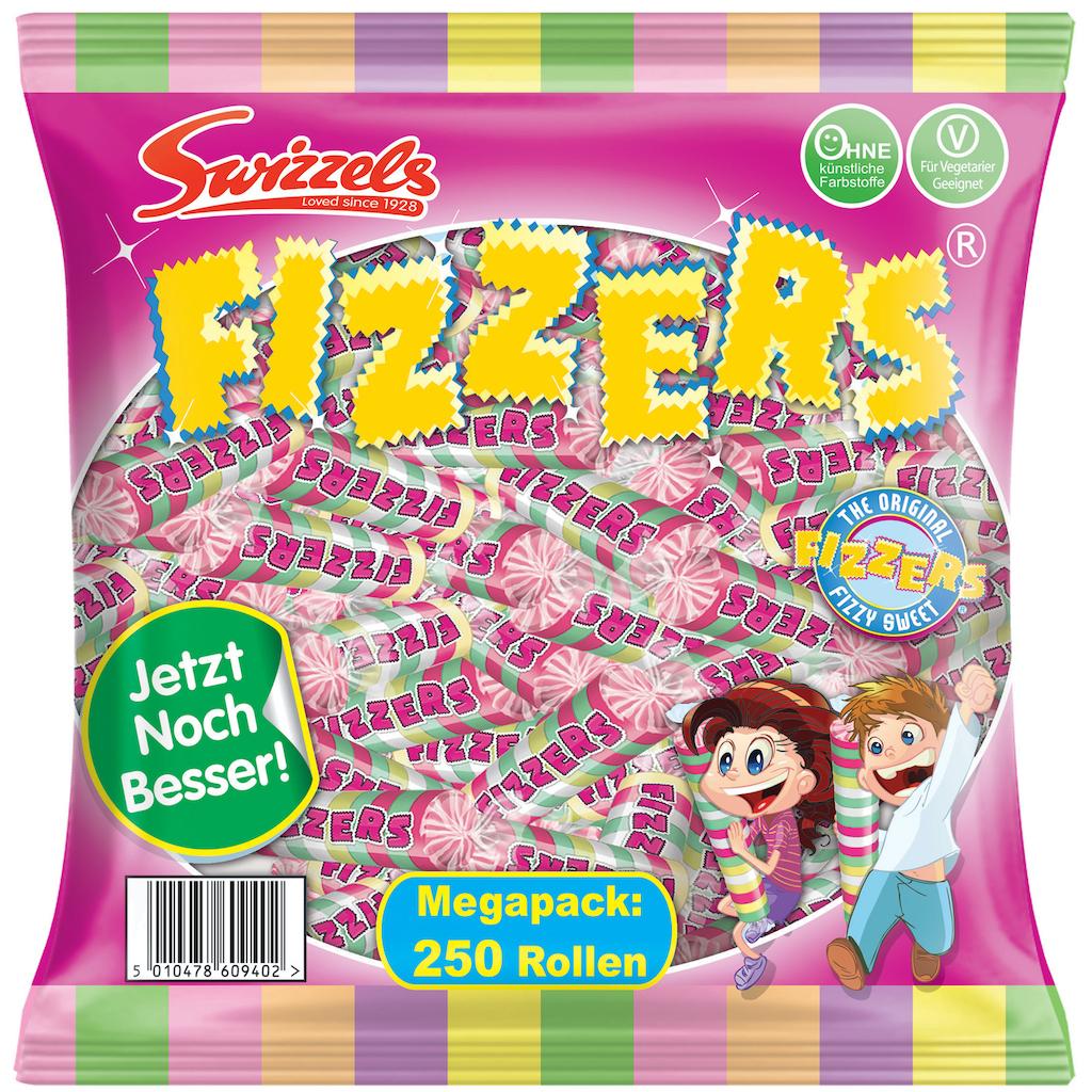 Swizzels Fizzers MegaPack 250 Rollen