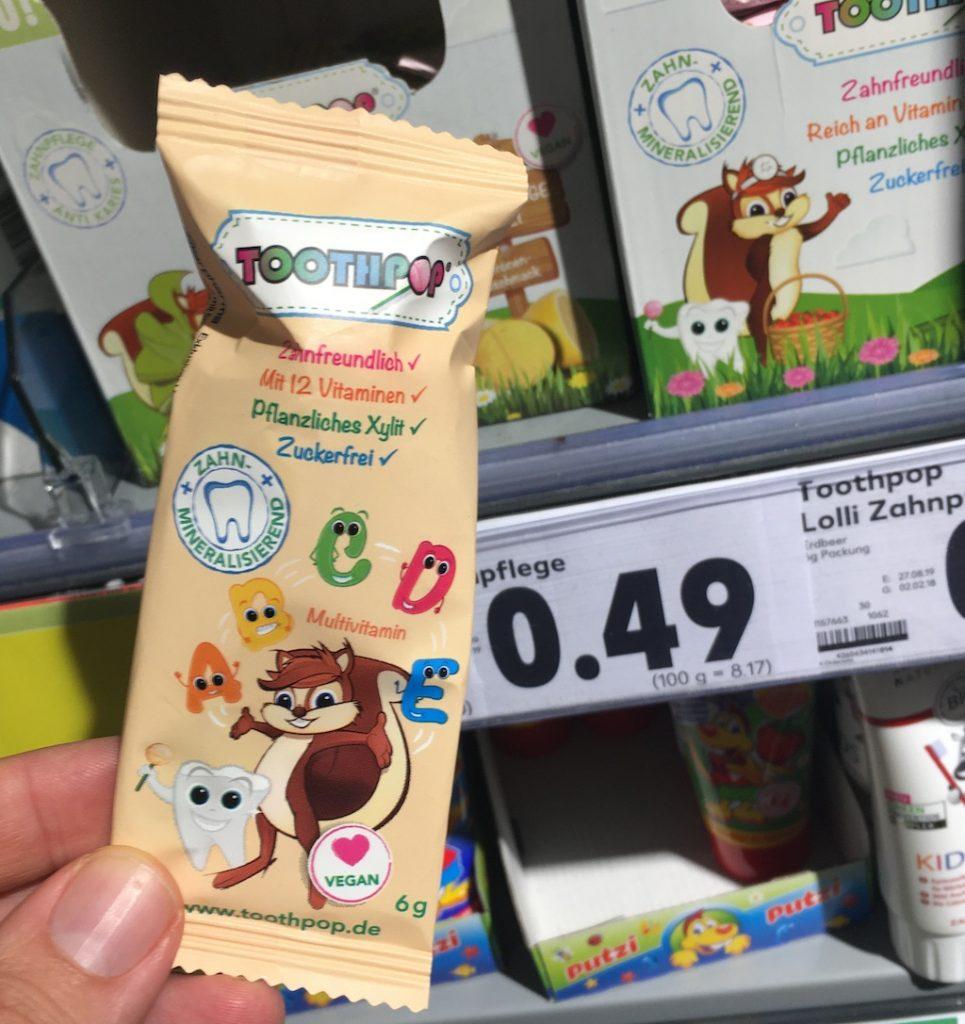 Toothpop Zahnpflege-Lolli