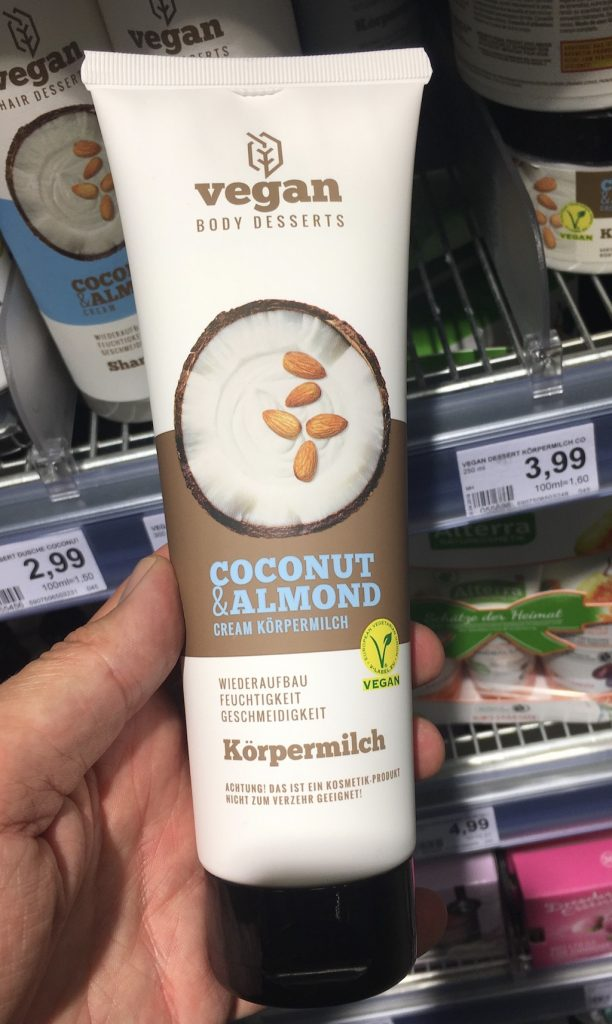 Vegan Coconut+Almond Cream Körpermilch