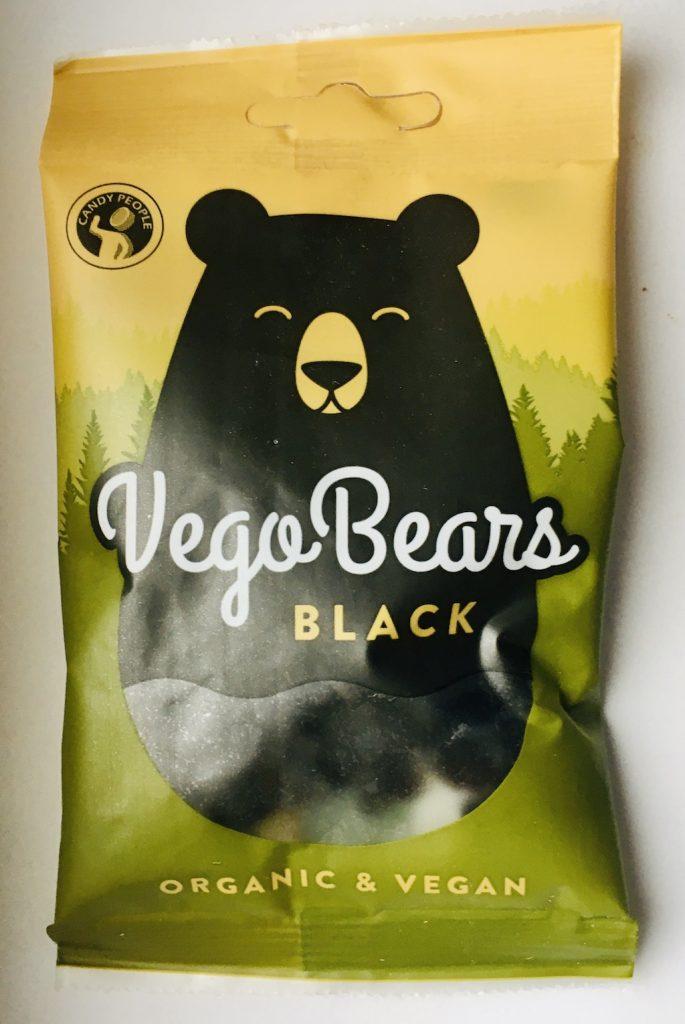 VegoBears Black Organic+Vegan Weichlakritz 50 Gramm