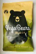 VegoBears Black Organic+Vegan Weichlakritz