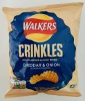 Walkers Crinkles Cheddar+Onion Chips