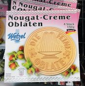 Wetzel Nougat-Creme Oblaten 4 STück 150 Gramm