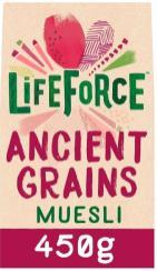 lifeforce ancient grains muesli 450g