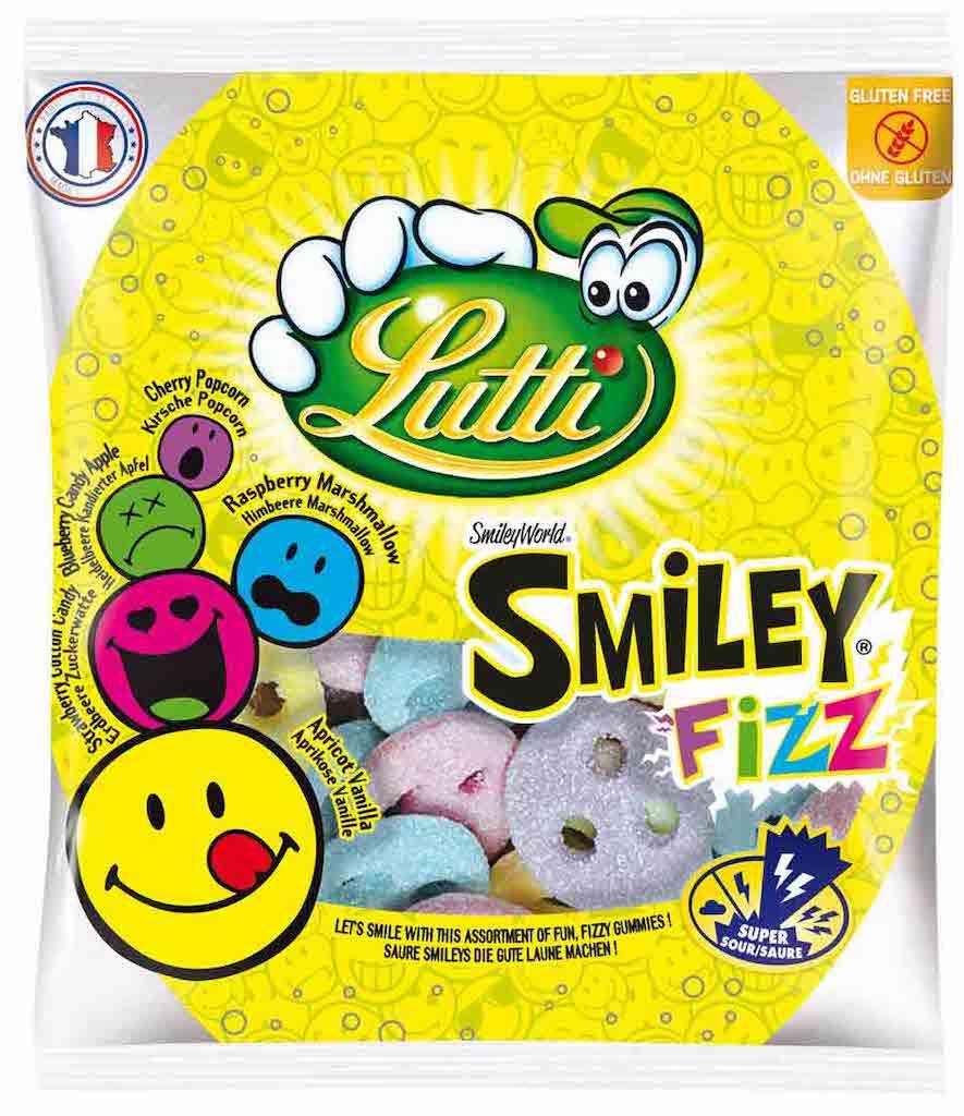 lutti-smiley-fizz-90g