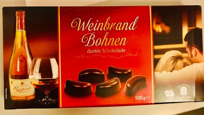 Brandt Weinbrandbohnen mit dunkler Schokolade 500 Gramm