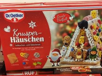 Lebkuchenhaus von Dr. Oetker Kunsperhäuschen Lebkuchen und Dekorierset