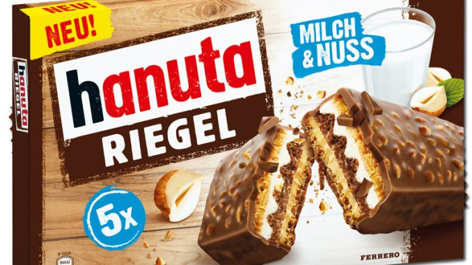 Ferrero Hanuta Riegel 5er-pack
