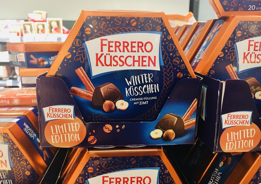 Ferrero Küsschen Winterküsschen Cremefüllung mit Zimt