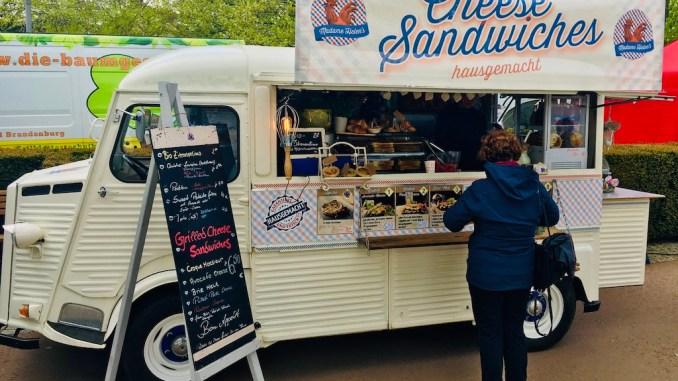 Food Truck Cheese Sandwichs Hausgemacht Drachenbootrennen Neuruppin 2019