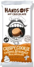 Hands off my Chocolate Crispy Cookie Caramel+ Seasalt 100g