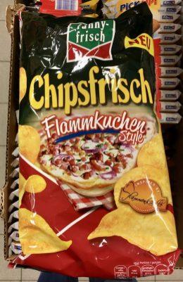 Intersnack Funny-frisch Chipsfrisch Flammkuchen-Style inspiriert durch Flammenkuechle