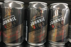 Johannie Walker Johnnie & Cola Mixgetränk in der Dose
