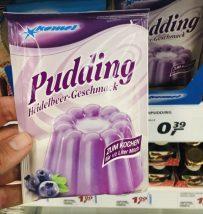 Komet Pudding Heidelbeer-Geschmack zum Kochen