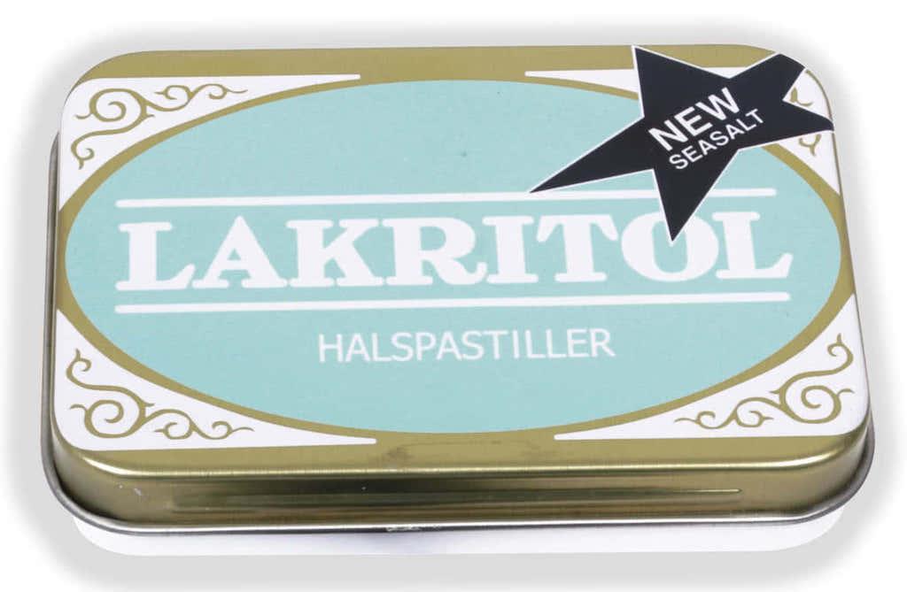 Lakritol Halspastiller New with seasalt 25g