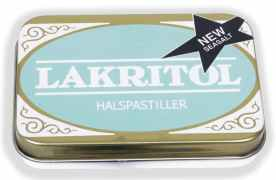 Lakritol Halspastiller New with seasalt 25g