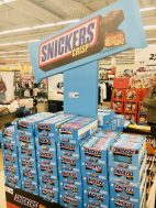 Mars Snickers Crisp Zweitplatzierung