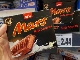 Mars gekühlter Milch-Snack