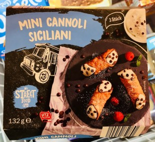 Mini Cannoli Siciliani My Street Food Truck 132 Gramm Lidl Tiefkühldessert