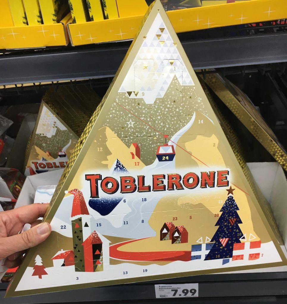 Mondelez Toblerone Adventskalender