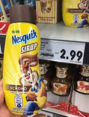 Nestlé Nesquik Dessertsoße
