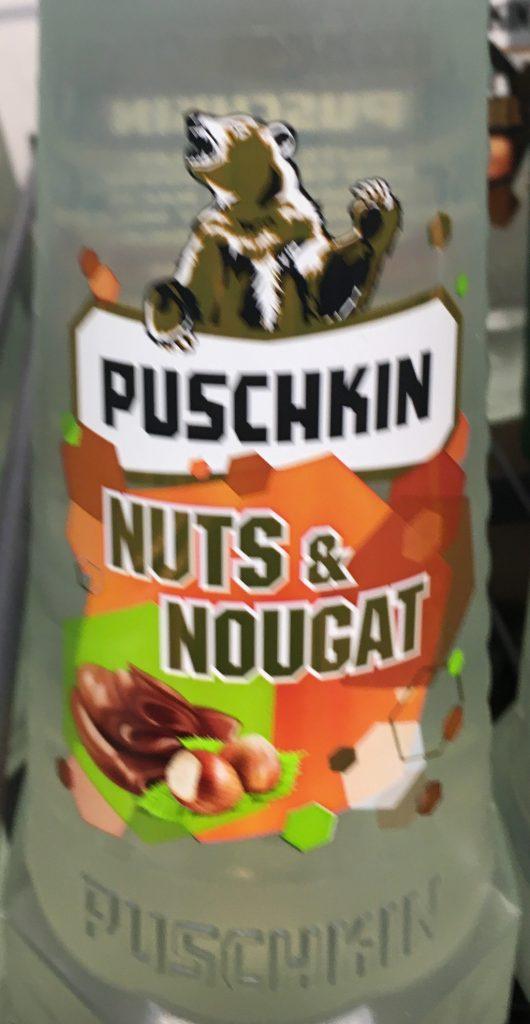 Puschkin Wodka Nuts+Nougat