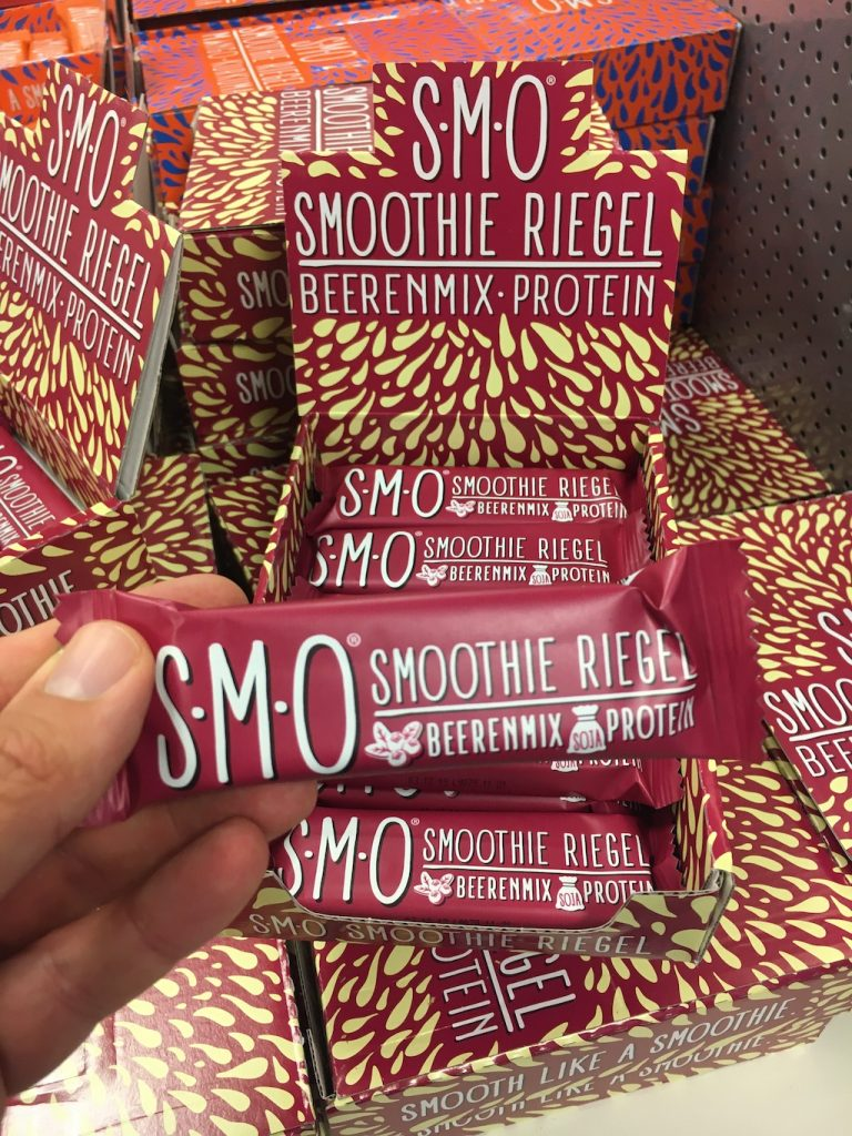 SMO Smoothie Riegel Beerenmix Protein