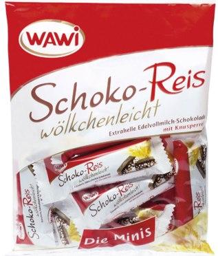 Wawi Schokoreiswölkchen Minis 200g