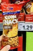 XOX Corn Snack BBQ Frittierter mais